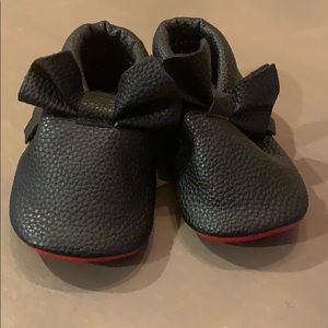 Other - Baby moccasins with red soles